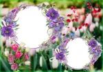 طرح لایه باز قاب عکس و فریم برای فتوشاپ با موضوع سرزمین گل (شماره2) 19